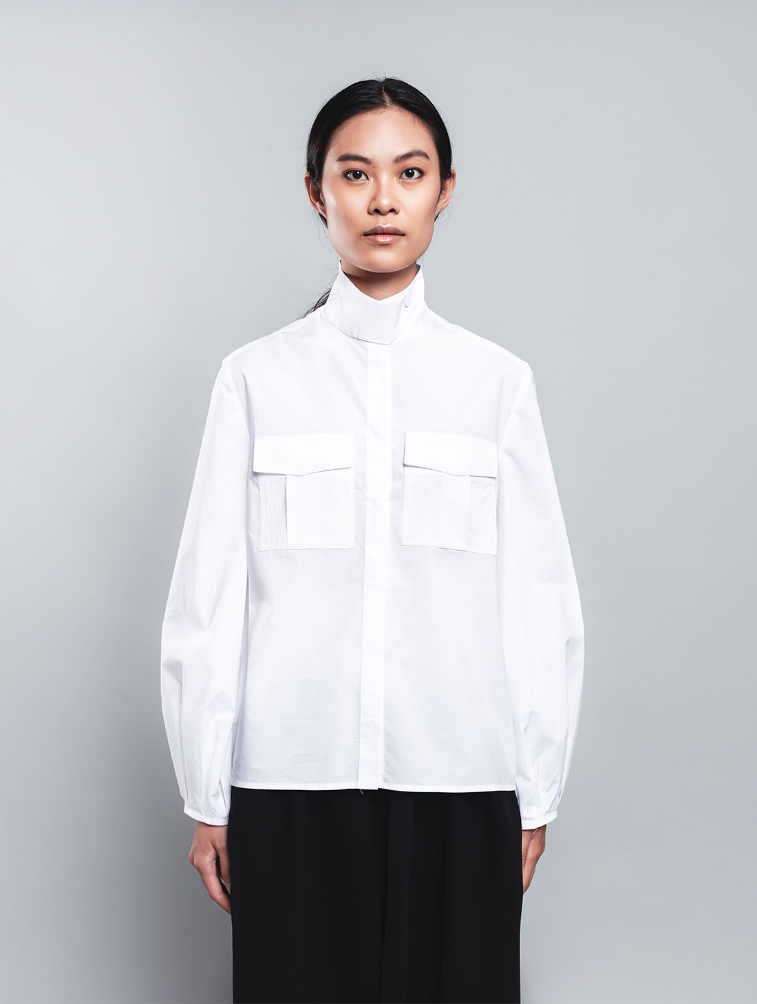 Izar – Camicia Bianca, 100% Cotone
