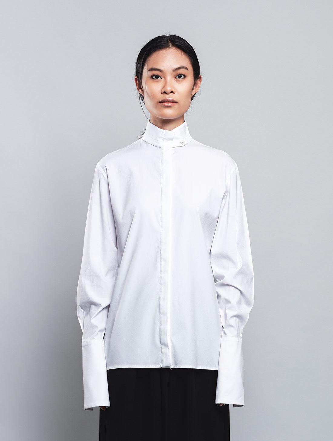 Hokkaido – Camicia Bianca, 100% Cotone